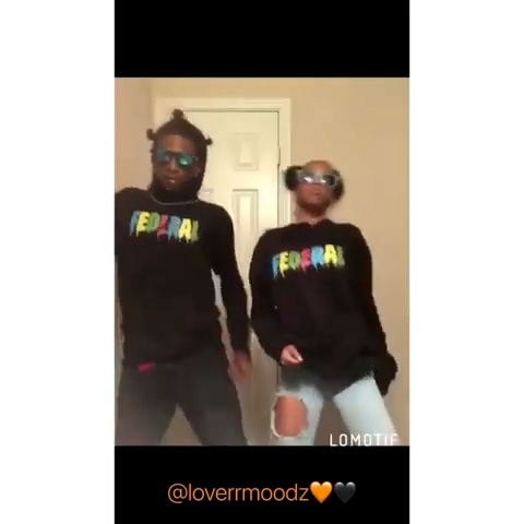 """""""The feelings that I got for you is true🧡🖤"""" #explore #couples #love #lomotif #ynwmelly - @loverrmoodz"""